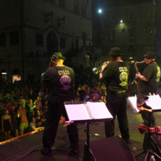 From Piazza IV Novembre  Stage- Umbria Jazz Festival, Italy